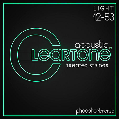 Cleartone Phosphor-Bronze Light Acoustic Guitar Strings-thumbnail
