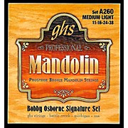 GHS Phosphor Bronze Mandolin Strings Medium Light