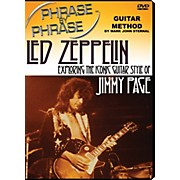 MJS Music Publications Phrase By Phrase Guitar Method - Led Zeppelin: Exploring The Iconic Guitar Style Of Jimmy Page