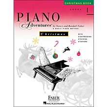 Faber Piano Adventures Piano Adventures Christmas Book Level 1 - Faber Piano