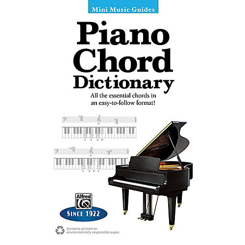 Alfred Piano Chord Dictionary Mini Music Guides Book-thumbnail