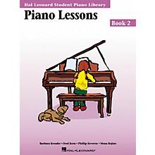 Hal Leonard Piano Lessons Book 2 Hal Leonard Student Piano Library