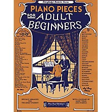 Music Sales Piano Pieces for the Adult Beginner Music Sales America Series Softcover