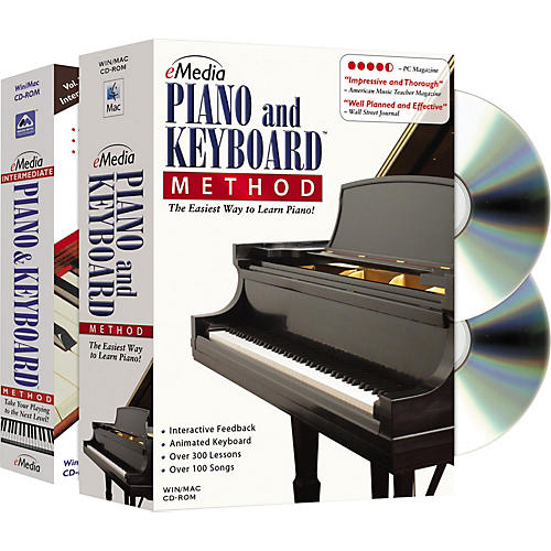 Emedia Piano and Keyboard Method Deluxe 2 CD-ROM Set-thumbnail