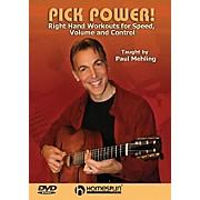 Homespun Pick Power! Instructional/Guitar/DVD Series DVD Written by Paul Mehling