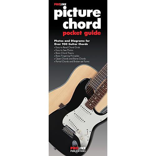 Proline Picture Guitar Chord Pocket Guide Book