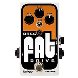 Pigtronix Bass Fat Drive Effects Pedal (BOD)