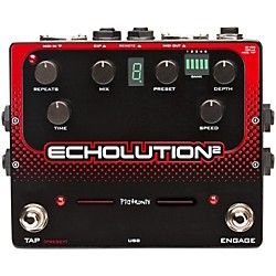Pigtronix Echolution 2 Guitar Effects Pedal (E2B)