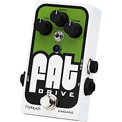Pigtronix Fat Drive Tube-Sound Overdrive Guitar Effects Pedal (FAT)