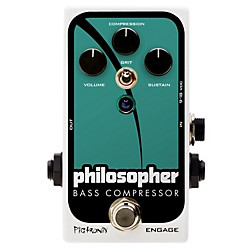 Pigtronix Philosopher Bass Compressor Effects Pedal (PBC)