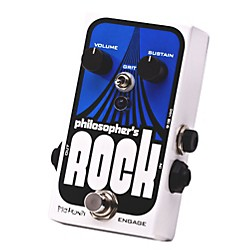 Pigtronix Philosopher's Rock Compressor & Sustainer with Germanium Distortion (ROK)