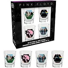 Hal Leonard Pink Floyd Pre 1987 Shotglasses (Set of 4)
