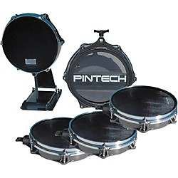 Pintech 4-Piece Drum Pad Bundle (PINPAD4-B)