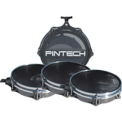 Pintech Woven Head Snare Drum and Tom Pad Set (E-PINPAD1)