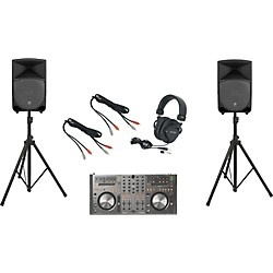 Pioneer DDJ-T1 / Mackie Thump TH-12A DJ Package (DDJT1TH12A)