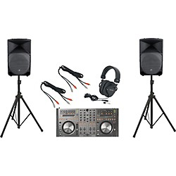 Pioneer DDJ-T1 / Mackie Thump TH-15A DJ Package (DDJT1TH15A)