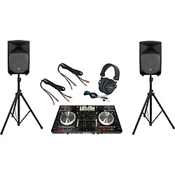 Pioneer Numark NS6 / Mackie Thump TH-12A DJ Package (DDJS1TH12A)