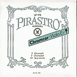 Pirastro Chromcor Violin Strings (1CVEL)
