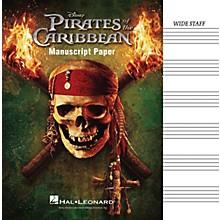 Hal Leonard Pirates Of The Caribbean Manuscript Paper