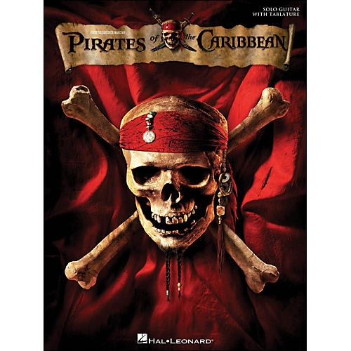 Hal Leonard Pirates Of The Caribbean for Solo Guitar with Tab-thumbnail