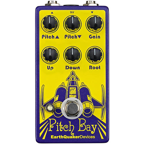EarthQuaker Devices Pitch Bay Polyphonic Harmonizer and Distortion Generator Guitar Effects Pedal-thumbnail