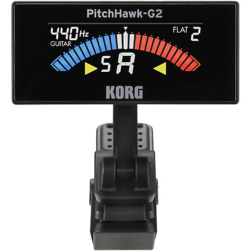 Korg Pitchhawk 2 Clip-On Tuner with Color LCD Screen-thumbnail