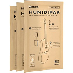 Planet Waves Humidipak Replacement Packets - 3 Pack (PW-HPRP-03)