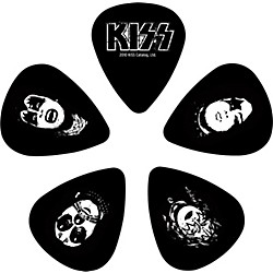 Planet Waves Kiss Logo Guitar Picks 10 Pack (1CBK2-10K1)