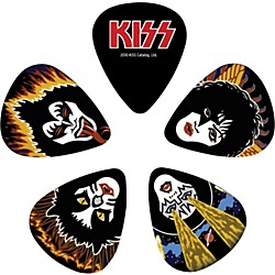 Planet Waves Kiss Rock & Roll Over Guitar Picks 10 Pack (1CBK6-10K2)