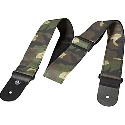 Planet Waves Woven Camouflage Guitar Strap (50G04)