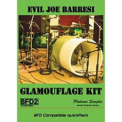Platinum Samples Evil Joe Barresi Glamouflage Kit QuickPack for BFD (EJGBFDGlamKit)