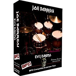 Platinum Samples Joe Barresi Evil Drums for BFD (EJB_BFD_EvilDrums)