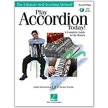 Hal Leonard Play Accordion Today! Level One (Book/Online Audio)