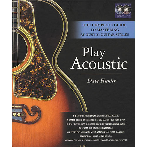 Hal Leonard Play Acoustic (Book and CD Package)