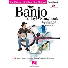 Hal Leonard Play Banjo Today! Songbook Play Today Instructional Series Series Softcover Audio Online by Various