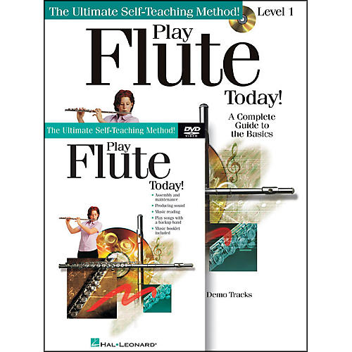 Hal Leonard Play Flute Today! Beginner's Pack - Includes Book/CD/DVD-thumbnail