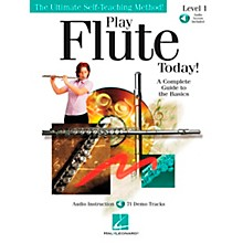 Hal Leonard Play Flute Today! Level 1 Book/CD