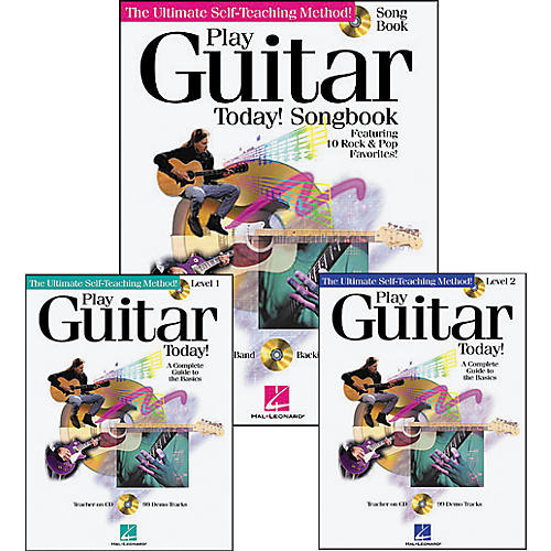 Hal Leonard Play Guitar Today Pack (Book/CD)