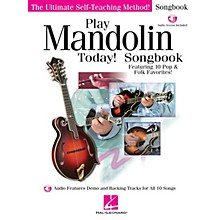 Hal Leonard Play Mandolin Today! Songbook Play Today Instructional Series Series Softcover Audio Online