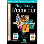 Hal Leonard Play Recorder Today Complete Kit Includes Method, Songbook,  2 CD's and Recorder