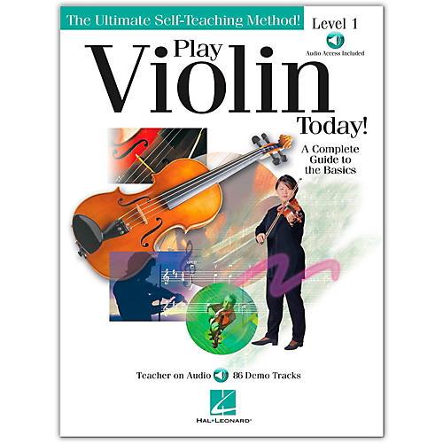 Hal Leonard Play Violin Today! Level 1 Book/CD