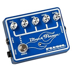 Plush Blues Flame Overdrive Guitar Effects Pedal (BFLAME)