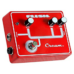 Plush Cream Overdrive Guitar Effects Pedal (PLUSHCREAM)