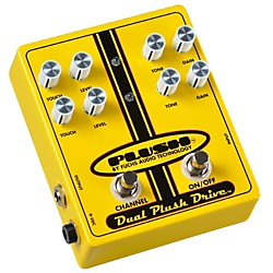 Plush Dual Plush Overdrive Guitar Effects Pedal (DUAL)