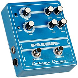 Plush Extreme Cream Overdrive Guitar Effects Pedal (PLUSHEXTREMECREAM)