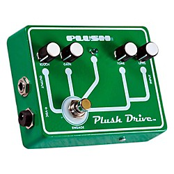 Plush Plush Drive Overdrive Guitar Effects Pedal (PLUSHDRIVE)