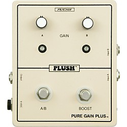 Plush Pure Gain Plus Boost Guitar Effects Pedal (PLUSHPUREGAINPLUS)