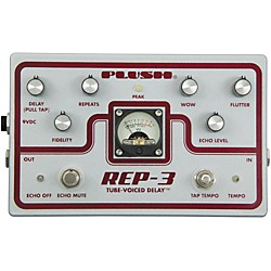Plush REP-3 Solid State Delay Guitar Effects Pedal (PLUSHREP3)