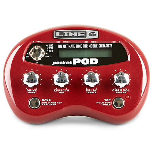 Line 6 Pocket POD Guitar Multi Effects Processor