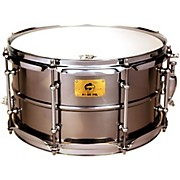 Pork Pie Polished Raw Iron Snare Drum